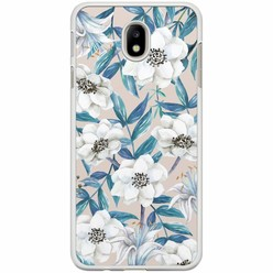 Samsung Galaxy J3 2017 hoesje - Touch of flowers