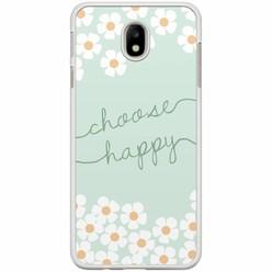 Samsung Galaxy J7 2017 hoesje - Choose happy