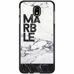 Samsung Galaxy J7 2017 hoesje - Marble is my name