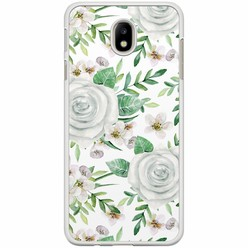 Samsung Galaxy J7 2017 hoesje - lovely flora