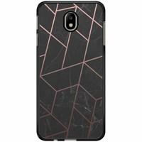 Samsung Galaxy J7 2017 hoesje - Marble grid