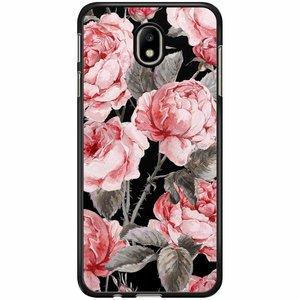 Samsung Galaxy J7 2017 hoesje - Moody florals