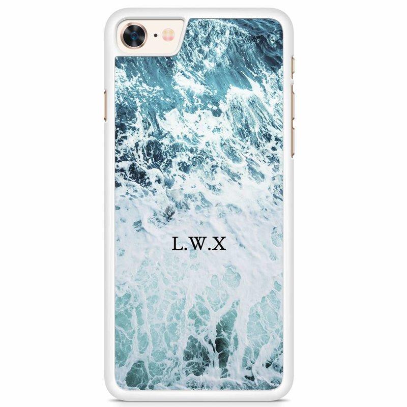 Hoesje ontwerpen met naam - Wave after wave