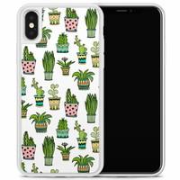 iPhone X/XS hoesje - Cactussen