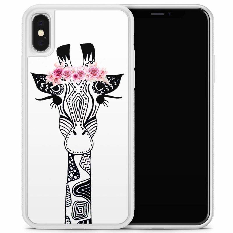 iPhone X/XS hoesje - Giraffe