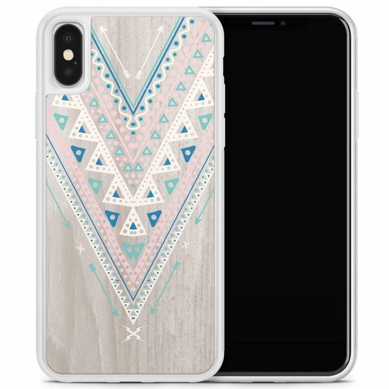 iPhone X/XS hoesje - Arrow wood