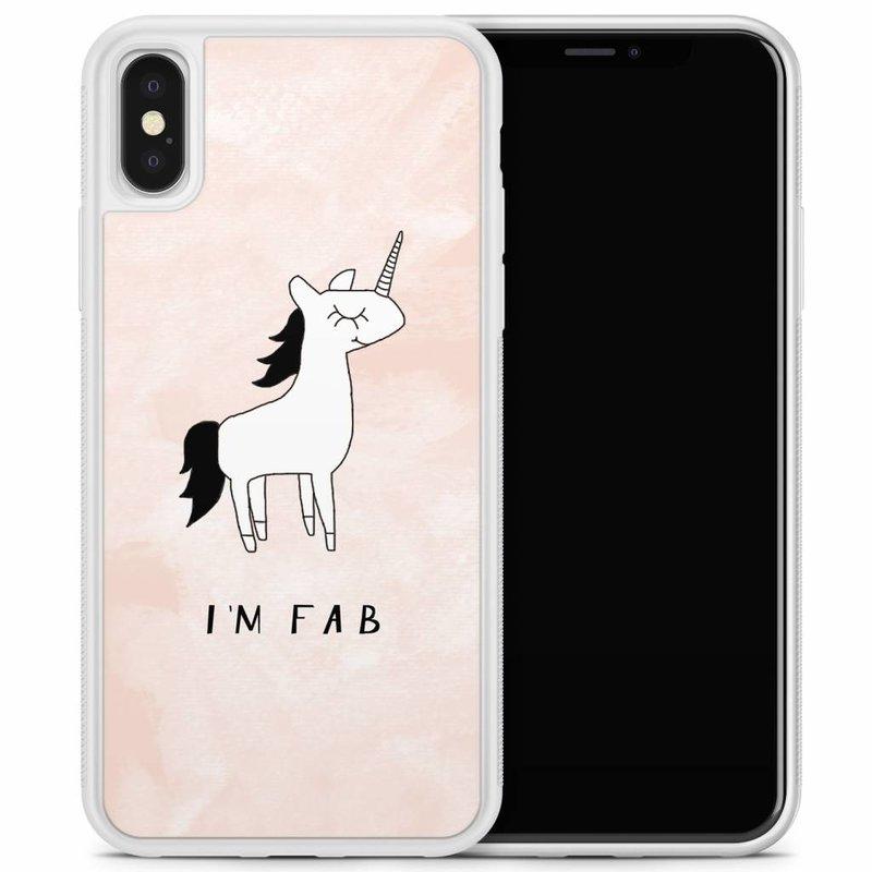 iPhone X/XS hoesje - I'm fab