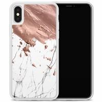iPhone X/XS hoesje - Marble splash