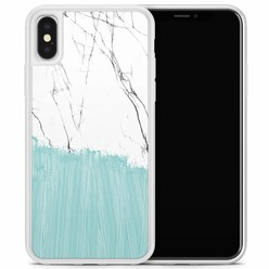 Casimoda iPhone X/XS hoesje - Marbletastic