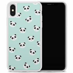 Casimoda iPhone X/XS hoesje - Panda's