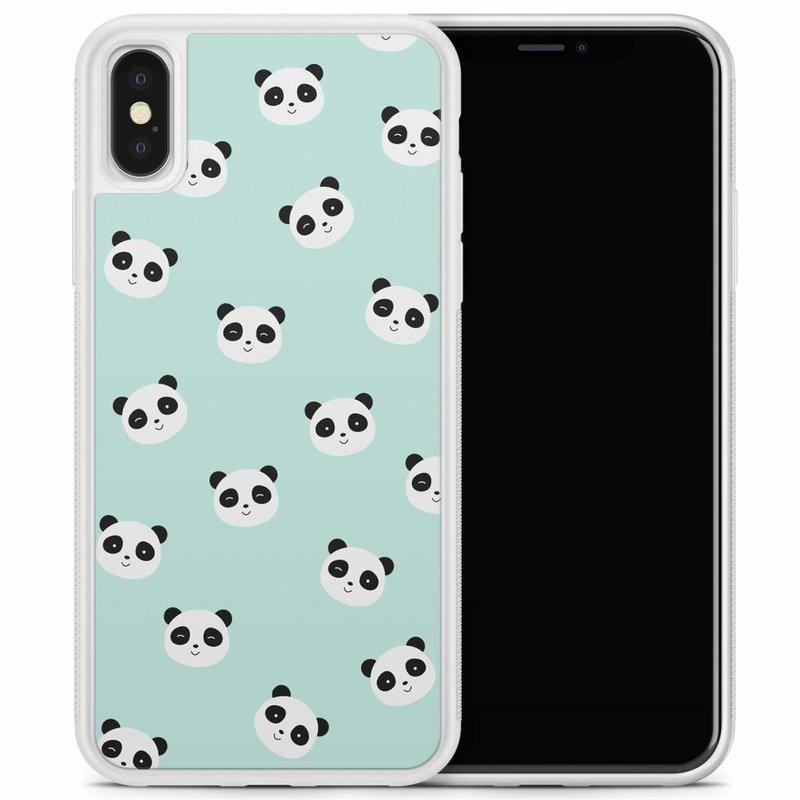 iPhone X/XS hoesje - Panda's
