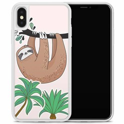 Casimoda iPhone X/XS hoesje - Luiaard