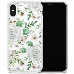 Casimoda iPhone X/XS hoesje - lovely flora