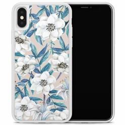 Casimoda iPhone X/XS hoesje - Touch of flowers