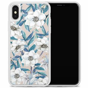 iPhone X/XS hoesje - Touch of flowers