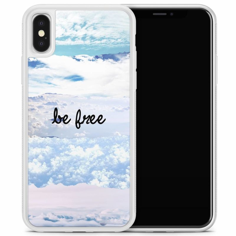 iPhone X/XS hoesje - Be free