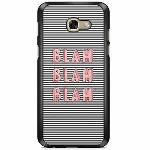 Samsung Galaxy A5 2017 hoesje - Blah blah blah