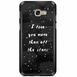 Samsung Galaxy A5 2017 hoesje - Stars love quote