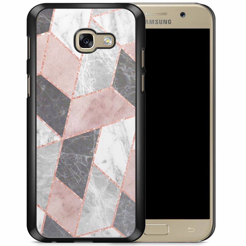 Samsung Galaxy A5 2017 hoesje - Stone grid