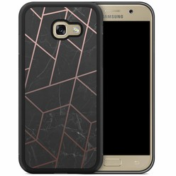 Samsung Galaxy A5 2017 hoesje - Marble grid