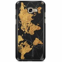 Samsung Galaxy A5 2017 hoesje - Wereldmap