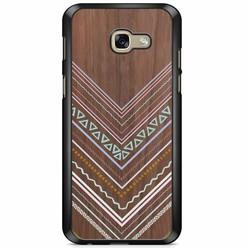 Samsung Galaxy A5 2017 hoesje - Wooden lines