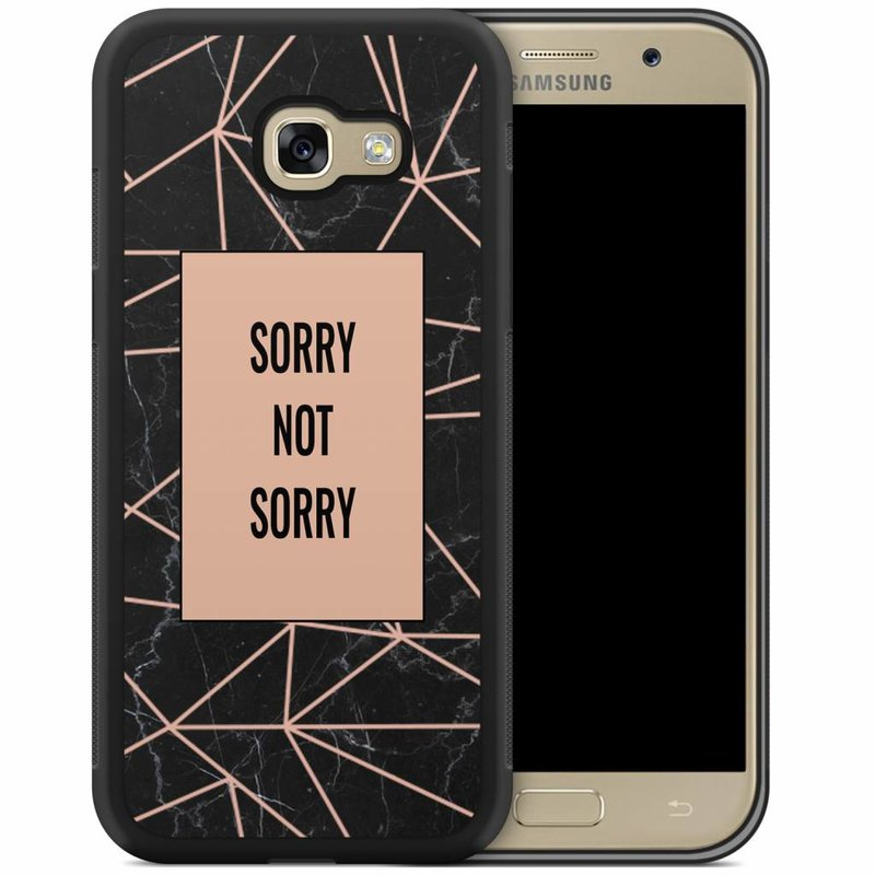 Samsung Galaxy A5 2017 hoesje - Sorry not sorry