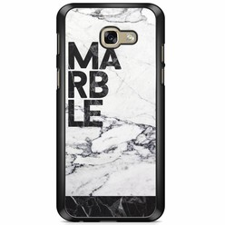 Samsung Galaxy A5 2017 hoesje - Marble is my name
