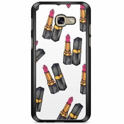 Samsung Galaxy A5 2017 hoesje - Lipsticks
