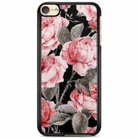 iPod touch 6 hoesje - Moody florals