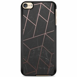 iPod touch 6 hoesje - Marble grid
