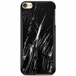 iPod touch 6 hoesje - Black marble