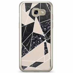 Samsung Galaxy A3 2017 siliconen hoesje - Abstract painted
