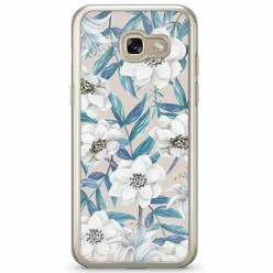 Casimoda Samsung Galaxy A3 2017 siliconen hoesje - Touch of flowers