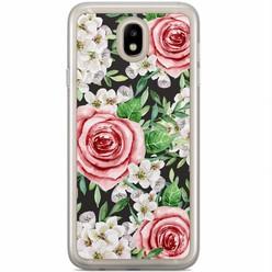 Casimoda Samsung Galaxy J3 2017 siliconen hoesje - Rose story
