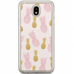 Samsung Galaxy J3 2017 siliconen hoesje - Ananas print