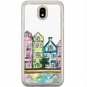 Casimoda Samsung Galaxy J5 2017 siliconen hoesje - Amsterdam