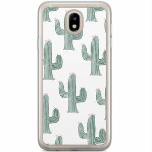 Casimoda Samsung Galaxy J5 2017 siliconen hoesje - Cactus print