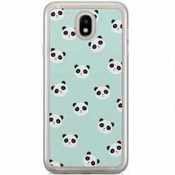 Samsung Galaxy J5 2017 siliconen hoesje - Panda print