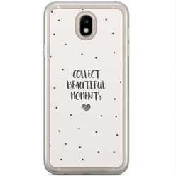 Casimoda Samsung Galaxy J5 2017 siliconen hoesje - Collect beautiful moments