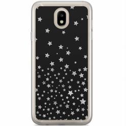 Samsung Galaxy J7 2017 siliconen hoesje - Falling stars