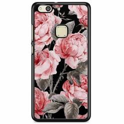 Huawei P10 Lite hoesje - Moody florals