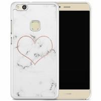 Huawei P10 Lite hoesje - Marmer hart