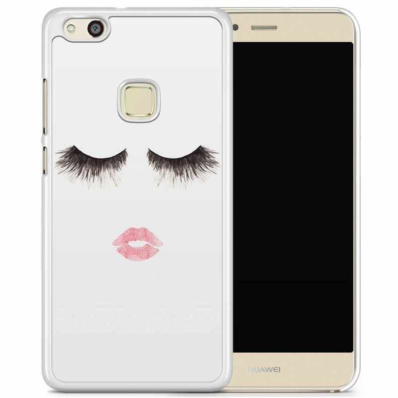 Huawei P10 Lite hoesje - Fashion eyelashes