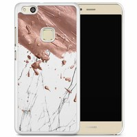 Huawei P10 Lite hoesje - Marble splash