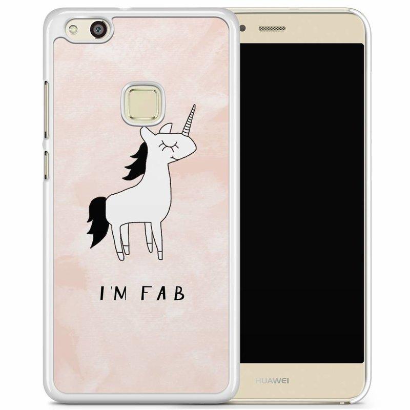 Huawei P10 Lite hoesje - I'm fab