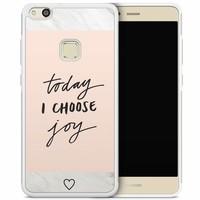 Huawei P10 Lite hoesje - Choose joy