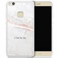 Huawei P10 Lite hoesje - C'est la vie