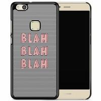 Huawei P10 Lite hoesje - Blah blah blah