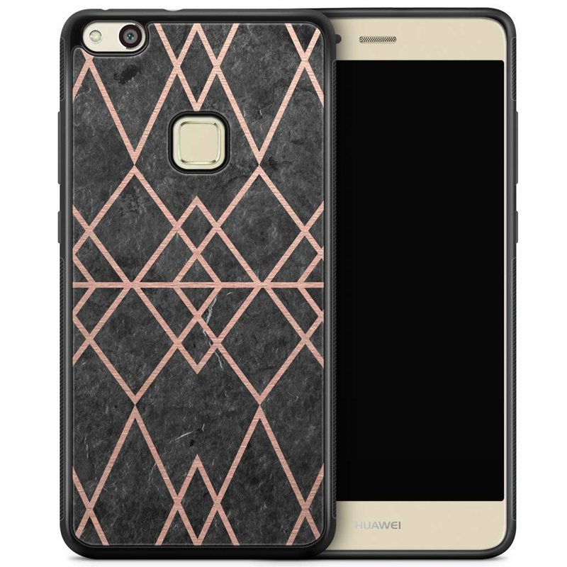 Huawei P10 Lite hoesje - Abstract rose gold
